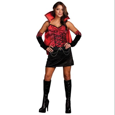 Image of Sexy Vampiress Dress Costume Adult