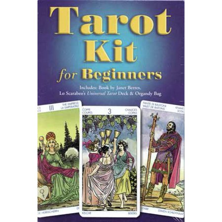 Tarot Cards Tarot Kit for Beginners Deck Kit Begin Your Ancient Knowledge of Spiritual Awareness Includes 78-Cards and Book Fortune Telling Tool by Janet Berres