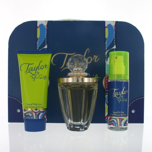 TAYLOR WOMEN 3 PIECE GIFT SET - 3.4 OZ EAU DE PARFUM by TAYLOR SWIFT