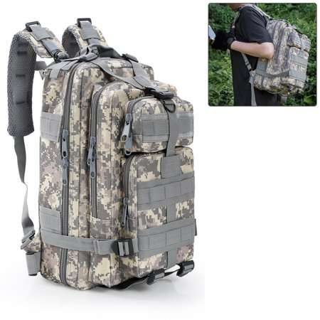 3P Tactical Outdoor Mountaineering Backpack Sports Camouflage Backpack Camping Hiking Trekking Climbing Travel Shoulder - Camouflage Backpacks