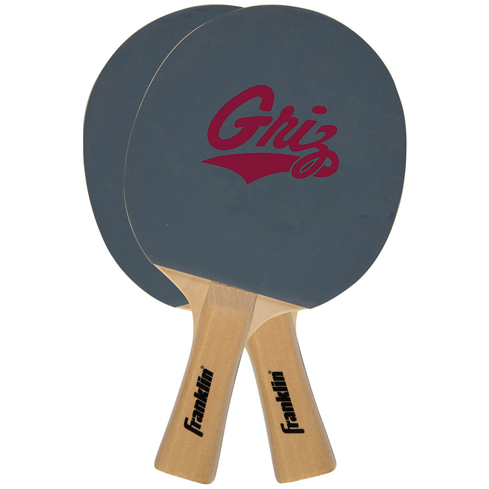 Franklin Sports FRA-15621F-63 Montana Grizzlies Ncaa Tennis Paddle (2 Paddles)