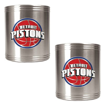 Great American NBA Stainless Steel Logo Can Holder Set
