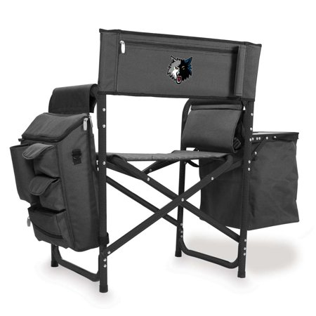 Minnesota Timberwolves Fusion Chair (Grey Black) by