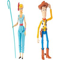 Toy Story 4 7 inch Basic Figures Bo Peep and Woody