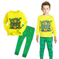 Teenage Mutant Ninja Turtles Kids Baby Boys Nightwear Pajamas Sleepwear 2-7Y