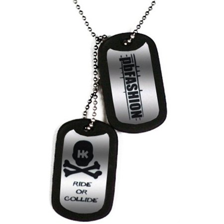 HK Army Dog Tags - Grey HK/PBFashion Edition Dog Tags