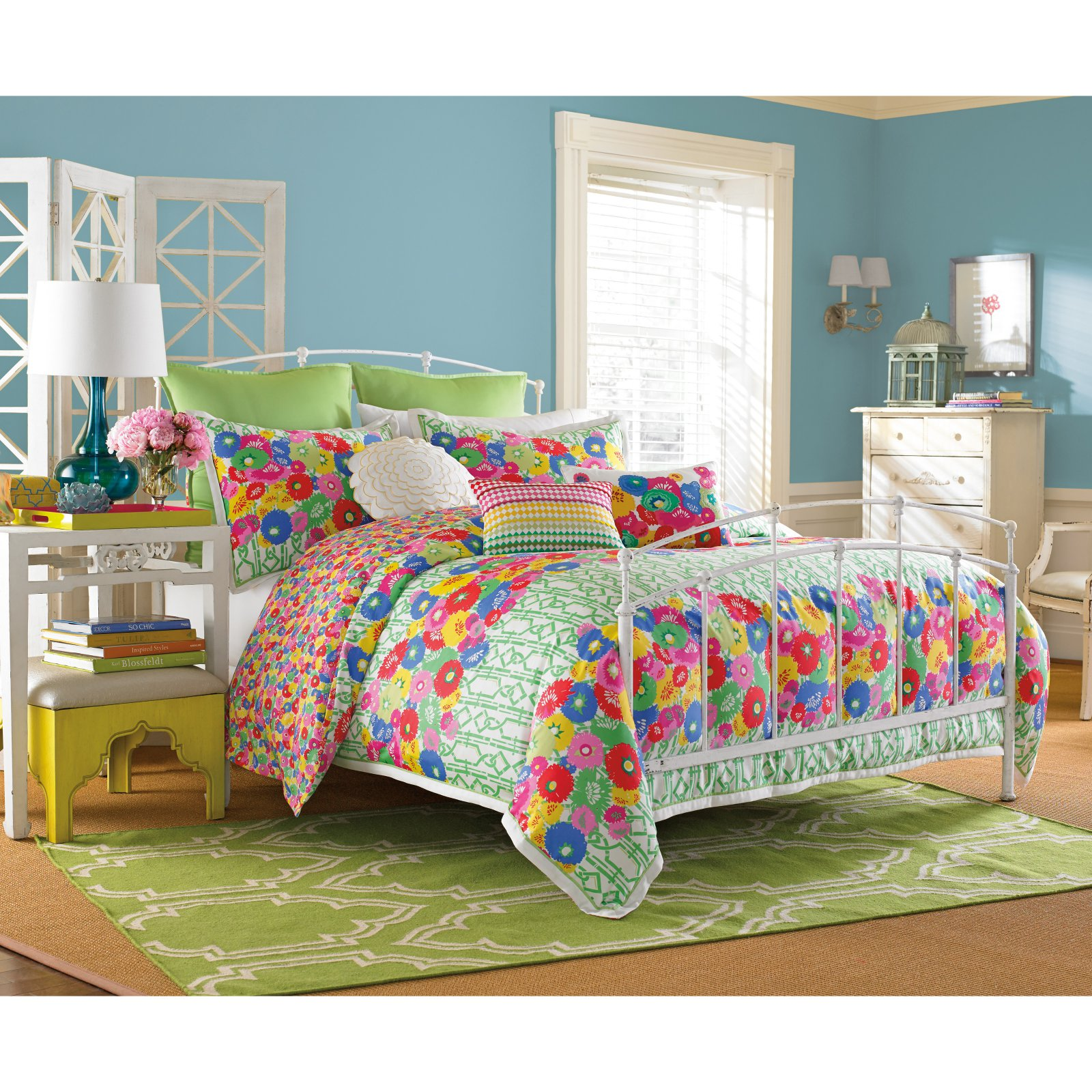 WestPoint Home LLC Collier Campbell English Bloom Comforter Set