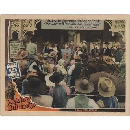 Fighting Bill Fargo (1941) Laminated Movie Poster Version 1 Print 24 x (Fargo 1 Light)