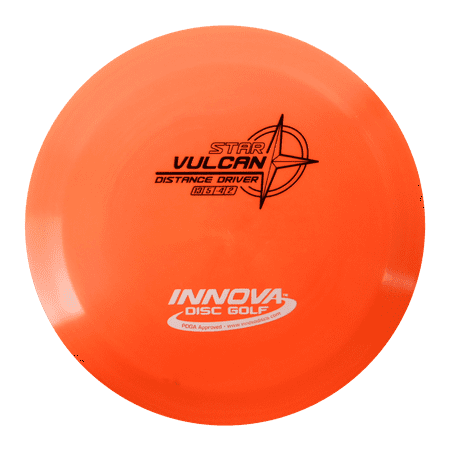 Innova Star Vulcan 170-172g Distance Driver Golf Disc [Colors may vary] - 170-172g