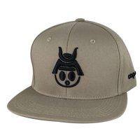 Product Image Caprobot Baby Samurai Basic 3D Cotton Baseball Cap Snapback  Hat - Khaki Black 47788ff2ccce