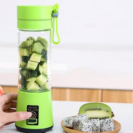 Portable Size USB Electric Fruit Juicer Handheld Smoothie Maker Blender Rechargeable Mini Portable Juice Cup Water - image 7 de 7