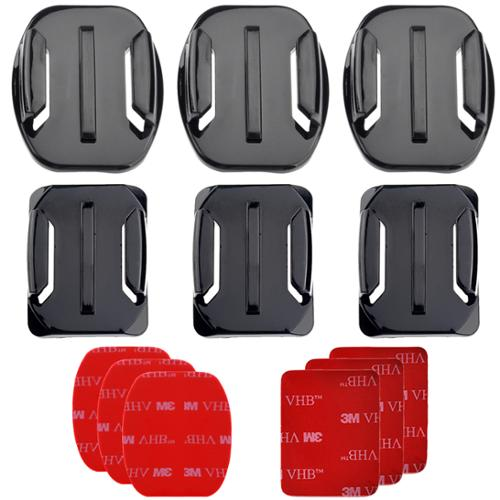 PRO-mounts PMGP100 Flat & Curved Mounts for GoPro HERO