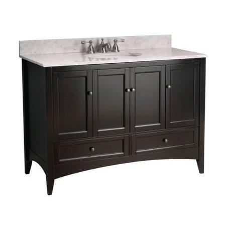 Foremost Berkshire 48-in. Single Bathroom Vanity - Espresso