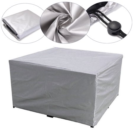 Large Capacity Waterproof Furniture Table Sofa Chair Cover Garden Outdoor Patio Protector ()