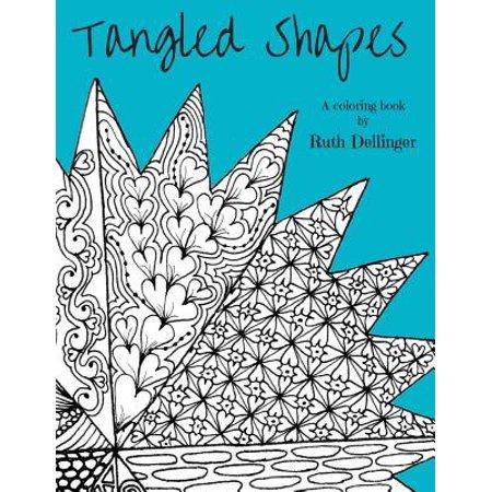 Tangled Shapes : A Coloring Book - Walmart.com