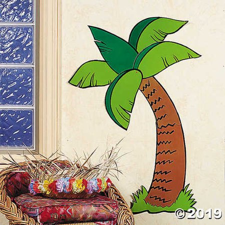 Tropical Palm Tree Jointed Cutout (31