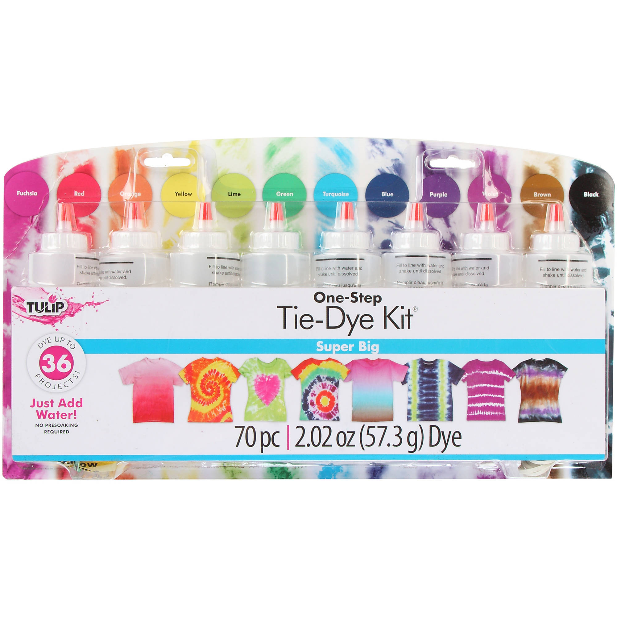 Tulip 12-Color Super Big Tie Dye Kit