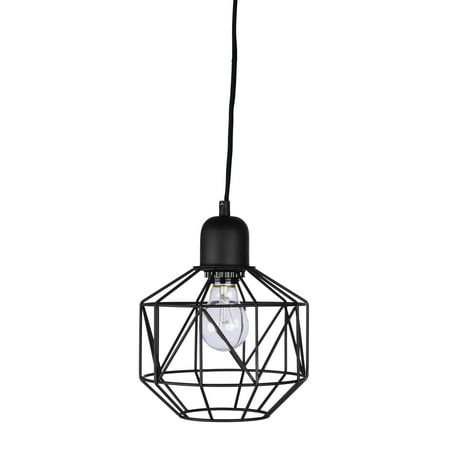 Better Homes Amp Gardens 9 25 Quot Metal Cage Swag Pendant Light