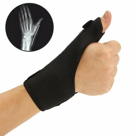 Cloth Medical Wrist Thumb Hand Spica Splint Support Brace Stabiliser Sprain Arthritis,Ideal for healing carpal tunnel syndrome, wrist fractures, sprains, ligament , tendon