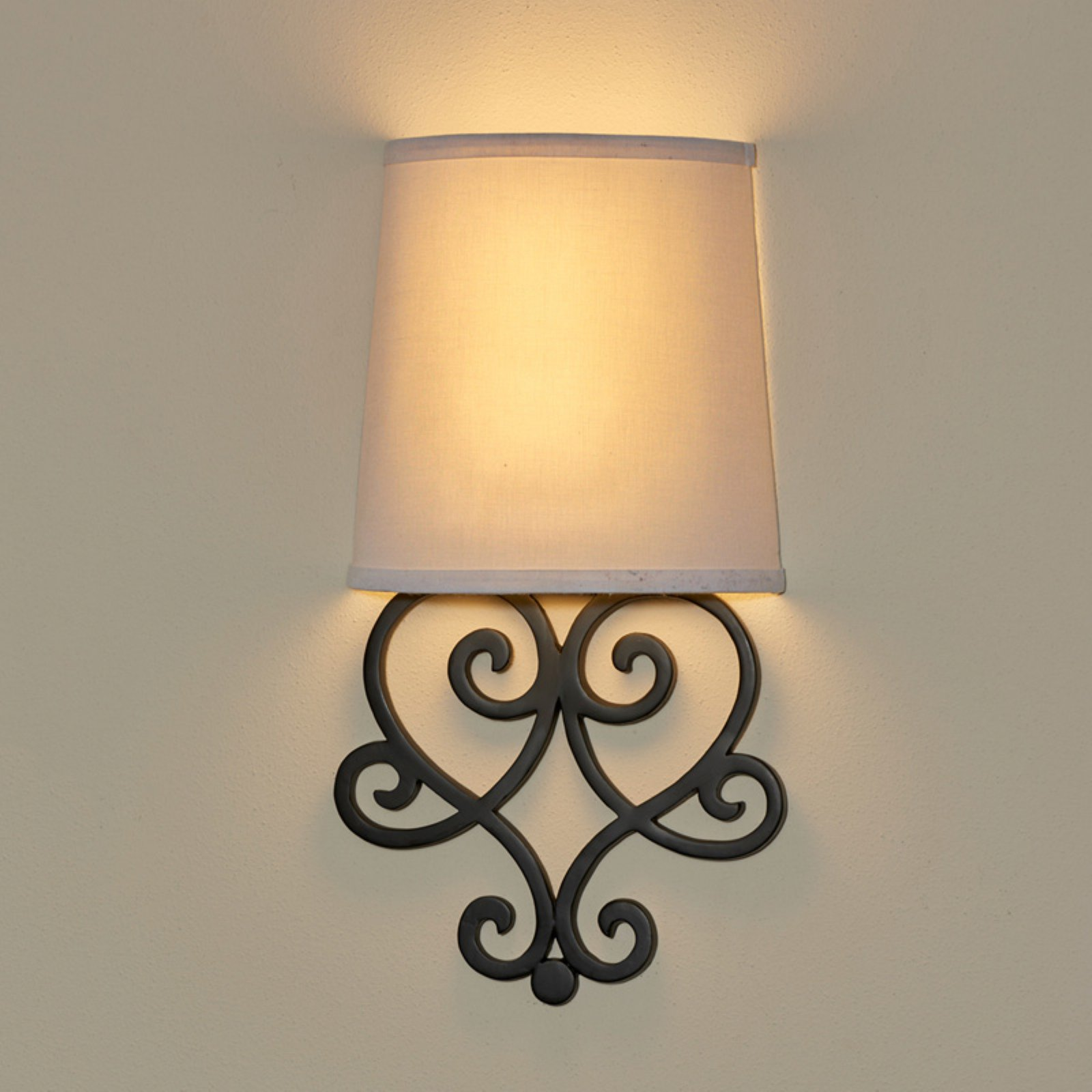 Its Exciting Lighting Helix Heart Scroll Wall Sconce