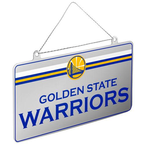 Nba Warriors Lic Plate Orn