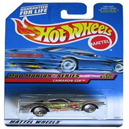 Mad Maniax Series #2 Camaro Z28 Lace Wheels #2000-18 Collectible Collector Car Mattel Hot Wheels 1:64 Scale