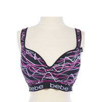 be8abca0f6898 Product Image BeBe Womens Adjustable Racerback Sport Push Up Leopard BRA  BRA895-M-Pink Multi
