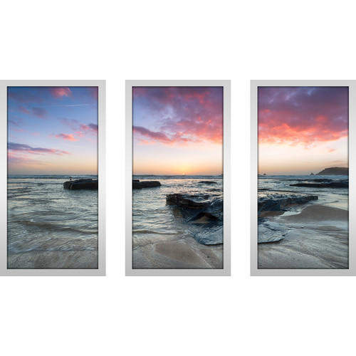 Picture Perfect International ''Shore Thing'' 3 Piece Framed Photographic Print Set