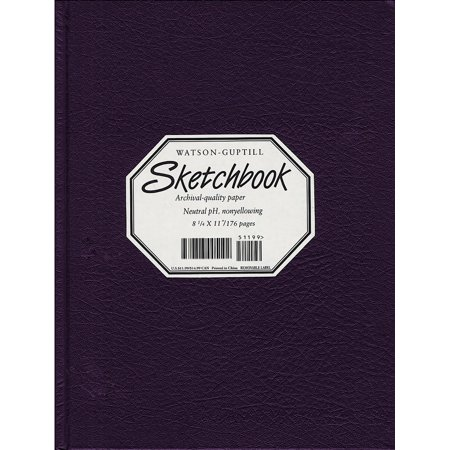Large Sketchbook (Kivar, Blackberry)