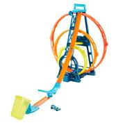 Hot Wheels Track Builder Triple Loop Kit Vehicle Playset