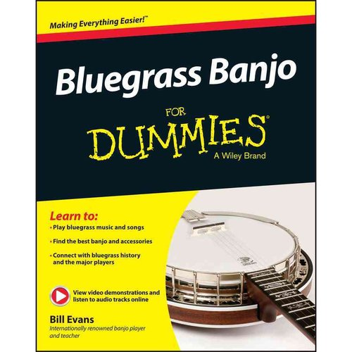 Bluegrass Banjo for Dummies by
