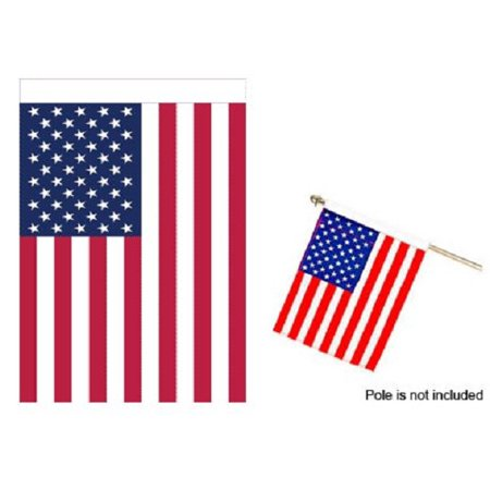 Sleeve Banner (28x40 USA American Flag United States Banner Sleeve New America)