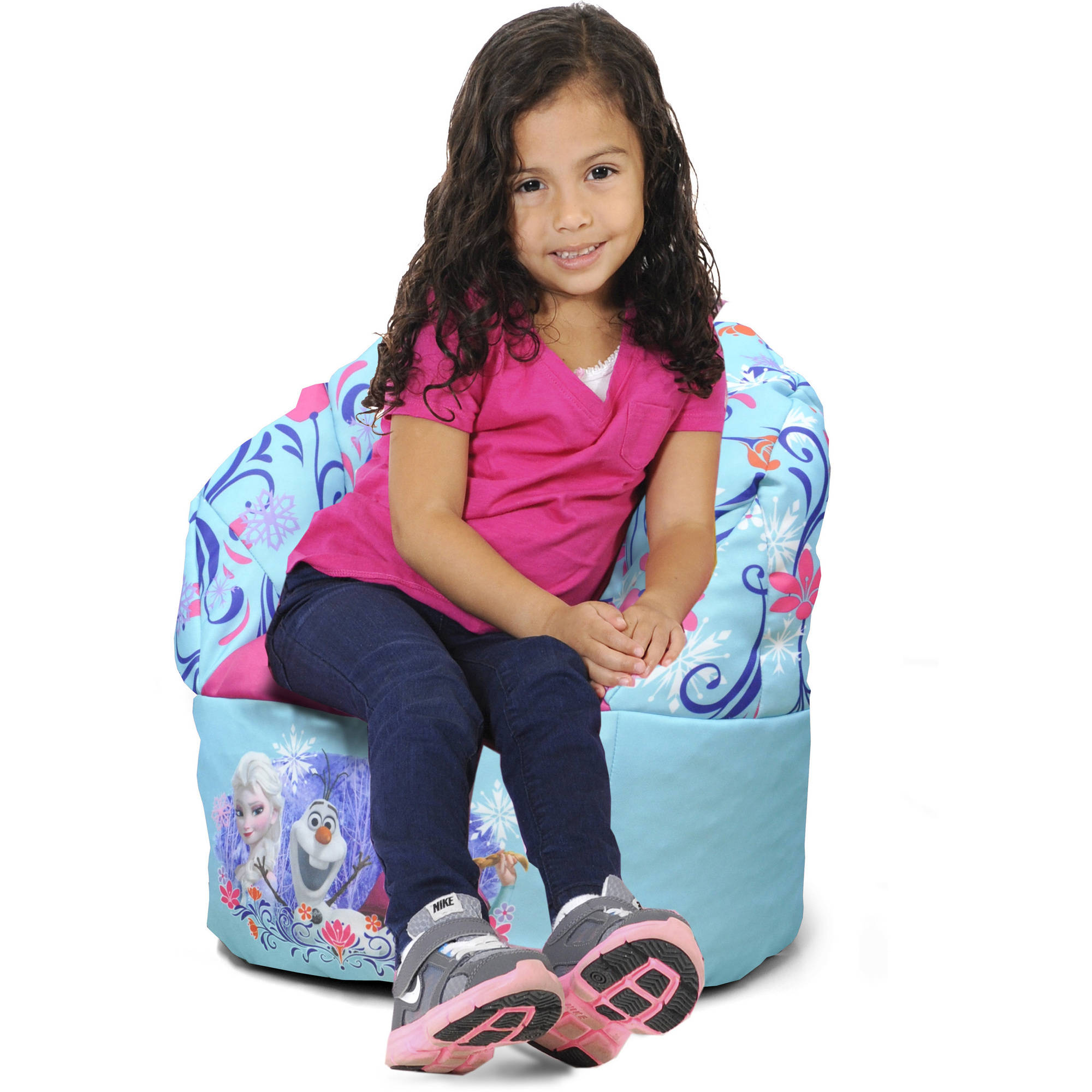 Disney Frozen Mini Bean Bag Chair, Blue