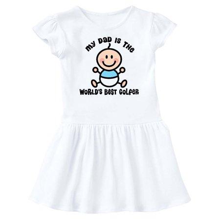 0d524204 Worlds Best Golfer Dad Infant Dress - Walmart.com