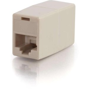 RJ12F TO RJ12F 6PIN STRAIGHT MODULAR INLINE COUPLER