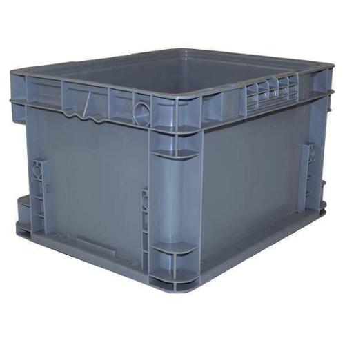 SCHAEFER AF121509.AAGY3 Wall Container,Charcoal,0.62 cu. ft.