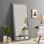 "Naomi Home Rustic Mirror-Finish:Green Gray,Size:66"" x 32"""