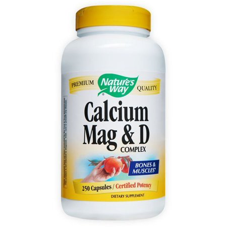 calcium magnesium vitamin d nature 39 s way 250 caps. Black Bedroom Furniture Sets. Home Design Ideas
