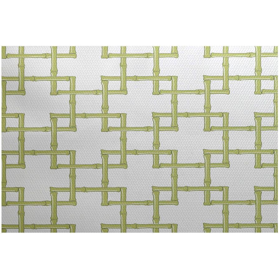Simply Daisy 5 X 7 Bamboo 2 Geometric Print Indoor Rug