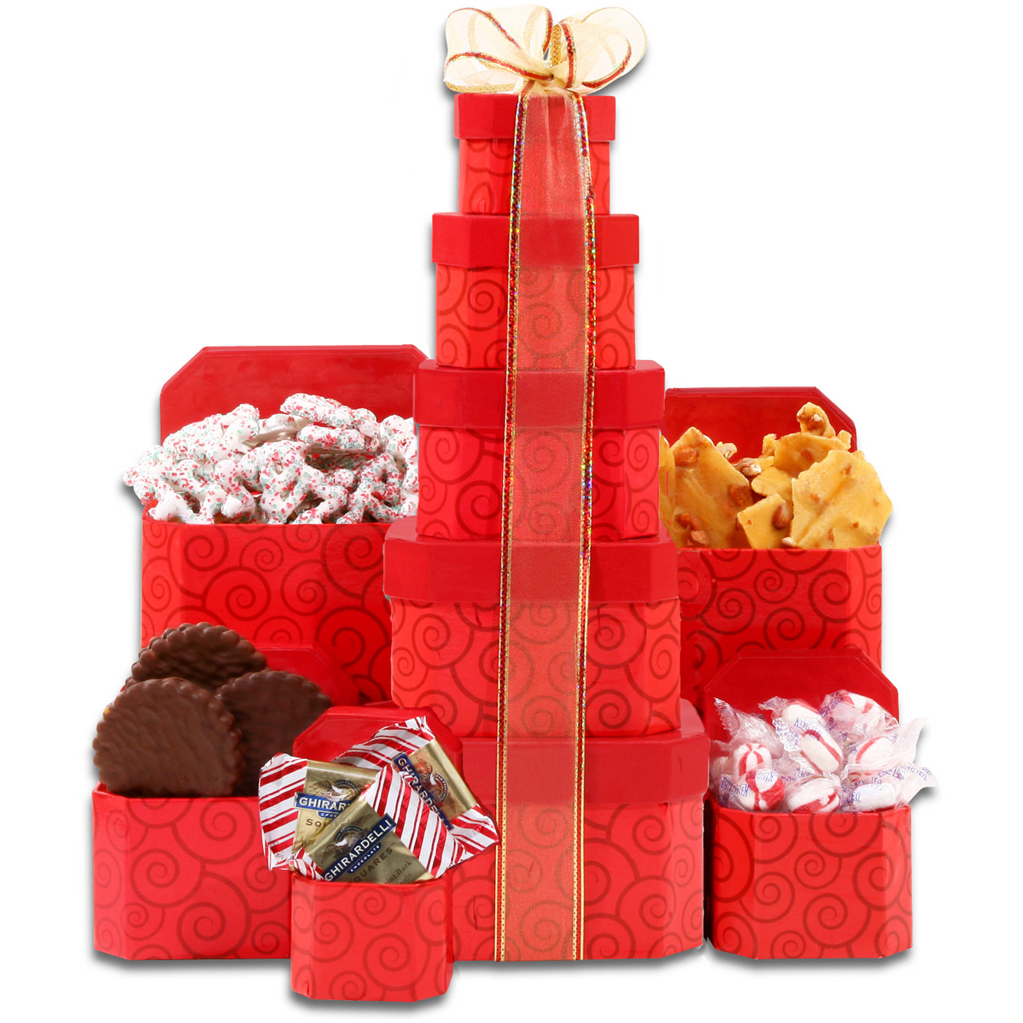 Alder Creek Holiday Decadence Gift Tower