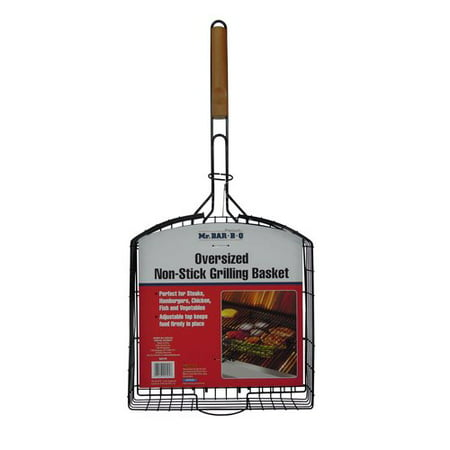 Mr. Bar-B-Q Oversized Non-Stick Basket - Black Market Bar And Grill Halloween