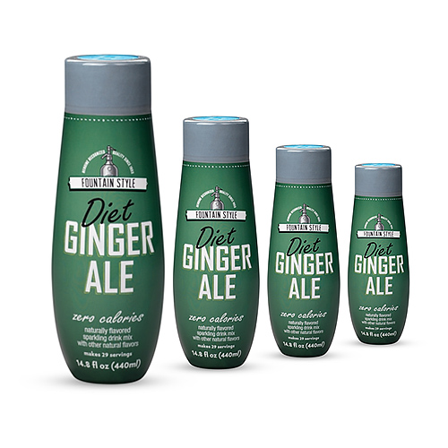 SodaStream Diet Ginger Ale  (4 Pack) SodaStream Diet Ginger Ale