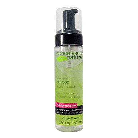 Conceived By Nature - Extra Hold Mousse 6.76 oz