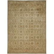 Solo Rugs One-of-a-kind Oushak Hand-knotted Area Rug 5' x 8'