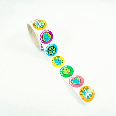 Earth Day Sticker Roll](Custom Roll Stickers)