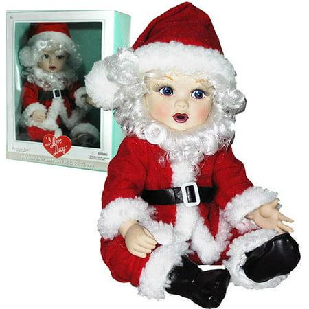 I Love Lucy  Premier Vinyl  Baby Doll X'mas  Santa Christmas Outfit Little Ricky By Precious Kids
