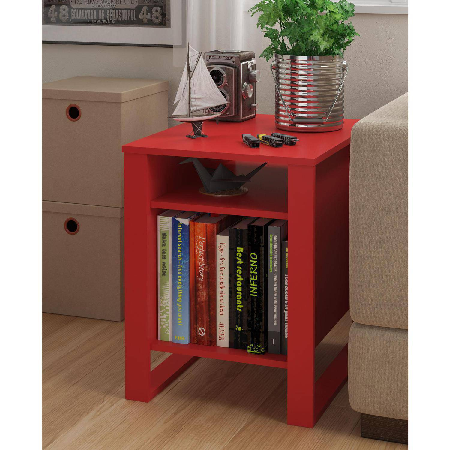 Mainstays Side Table, Multiple Colors