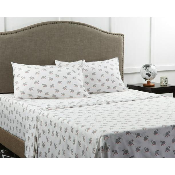 Mainstays 180 Thread Count Novelty Bedding Sheet Set Multicolor