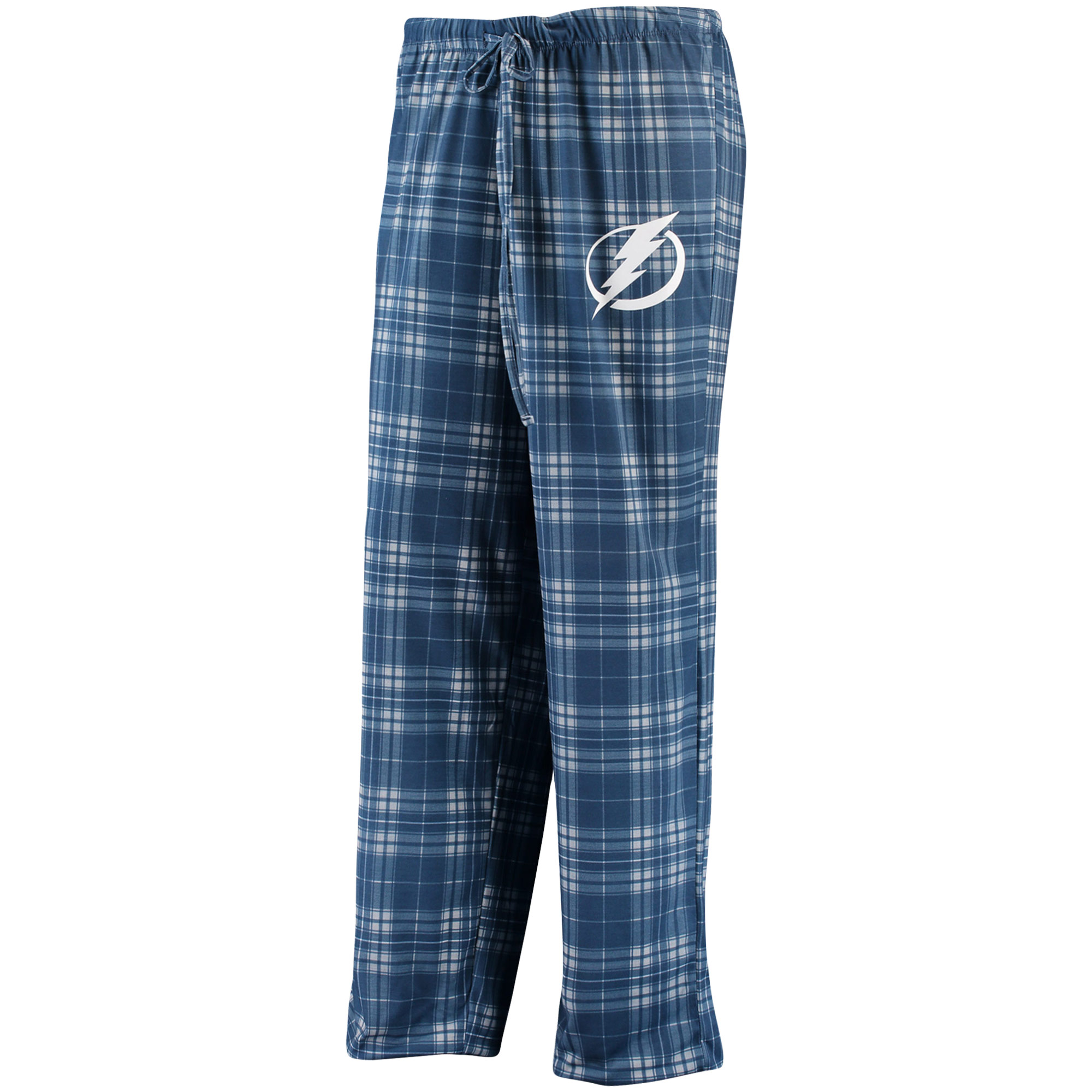 Women's Concepts Sport Blue/Gray Tampa Bay Lightning Plus Size Rush Knit Flannel Pants