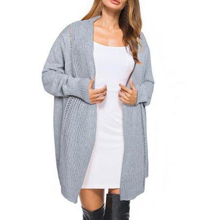 5a8dc41a1cfeaa Women's Fashion Asymmetrical Casual Sexy Oversized Long Sleeve ...